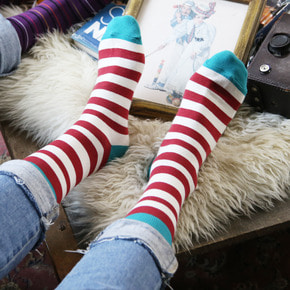 Sheep&Horse쉽앤홀스 red line SOCKS