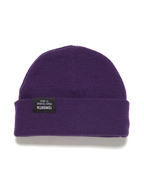 13Month써틴먼스 VIVID WATCH CAP (PURPLE)