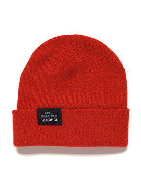 13Month써틴먼스 VIVID WATCH CAP (RED)