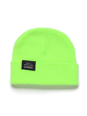 13Month써틴먼스 VIVID WATCH CAP (LIME)