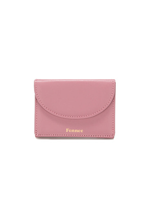 Fennec페넥 HALFMOON MINI WALLET - ROSE PINK