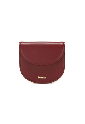 Fennec페넥 HALFMOON WALLET - SMOKE RED