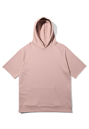 Lab101랩원오원 LH2WHS12INDIAN PINK ZIPPER HOODY