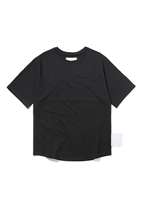 Lab101랩원오원 LH2WTS19BK BLACK BACK ARTWORK TEE
