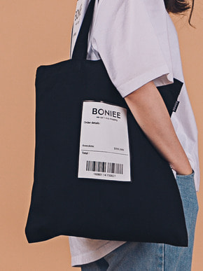 Boniee보늬 Black reciept(bag)_Holiday