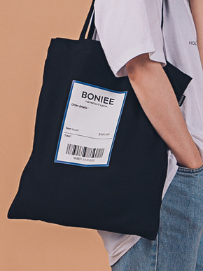 Boniee보늬 Blue reciept(bag)_Holiday