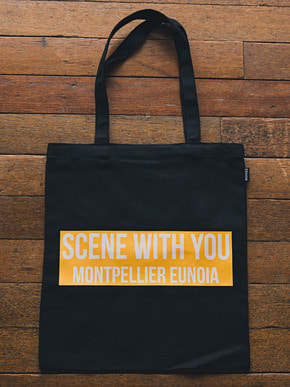 Boniee보늬 Slogan_mustard(bag)_Scene with you