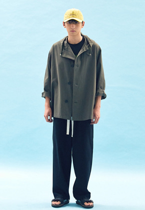 Freiknock프라이노크 OVERSIZED MILITARY COAT(KHAKI)