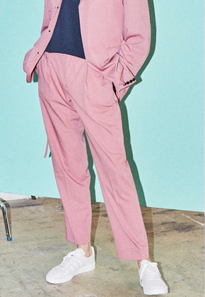 NOHANT노앙 BRUNCH TROUSER PINK