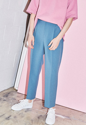 NOHANT노앙 BRUNCH TROUSER BLUE