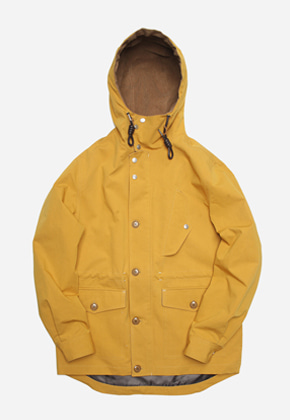 FRIZMWORKS프리즘웍스 Paulo mountain field parka _ mustard