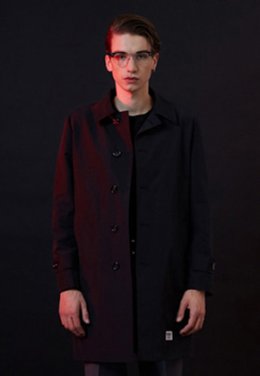 THE MEN PRODUCTS더맨프로덕트 MP-026/Trench Coat_Black