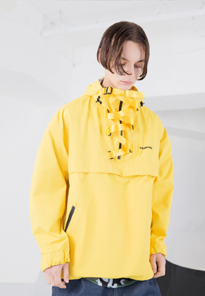 FROMMARK프롬마크 OVERSIZED TECH ANORAK Yellow