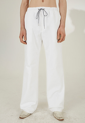 PIKHOUSE픽하우스 DISCO Pants White Denim