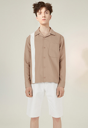 ANDY Shirts Beige