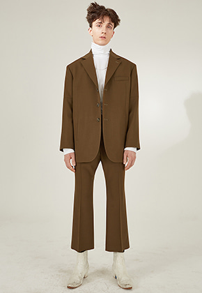 JOHN Suit Khaki Brown