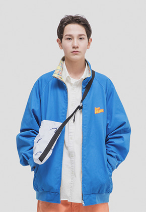 WKNDRS위캔더스 CITY BREAK BLOUSON (BLUE)