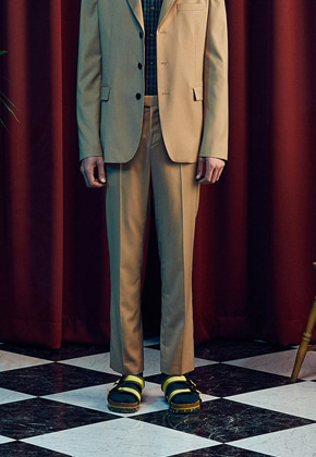 MMGL미니멀가먼츠랩 Basic slacks (Beige/ Set-up)