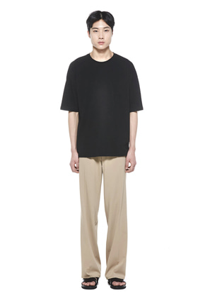 MMGL미니멀가먼츠랩 Long wide slacks (Beige)