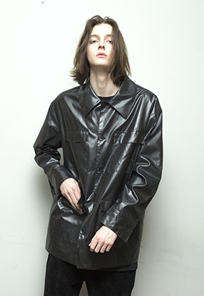 Enzoblues엔조블루스 RAIN FIELD JACKET (BLACK)