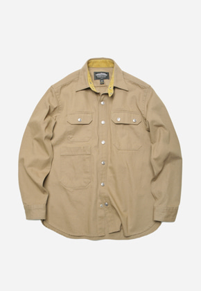 FRIZMWORKS프리즘웍스 Lucas shirt jacket _ beige