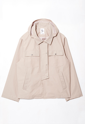 Etre에트르 WINDBREAKER JACKET BEIGE