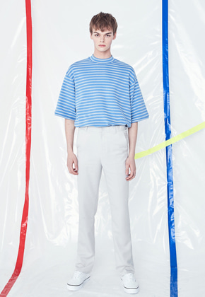 Voiebit브아빗 V220 LOOSE WIDE SLACKS  WHITE