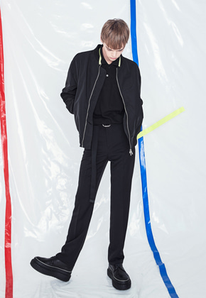 Voiebit브아빗 V220 LOOSE WIDE SLACKS  BLACK