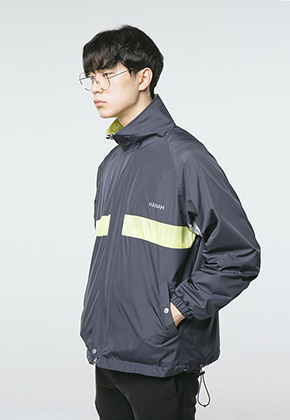 HANAH하나 HANAH WINDBREAKER(NAVY)