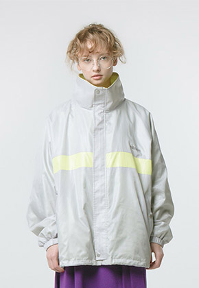 HANAH하나 HANAH WINDBREAKER(GRAY)