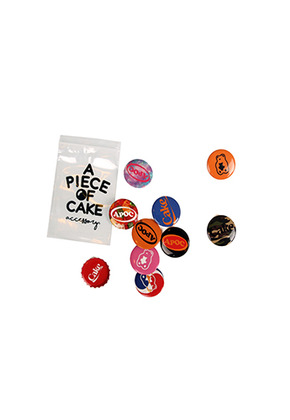 A Piece Of Cake어피스오브케이크 Pin Button Pack [10 Style in 1 Pack]