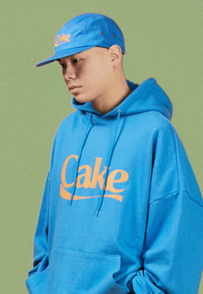 A Piece Of Cake어피스오브케이크 Cake Logo Camp Cap_Blue