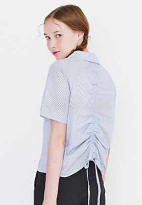 Margarin Fingers마가린핑거스 BACK STRING SHIRT
