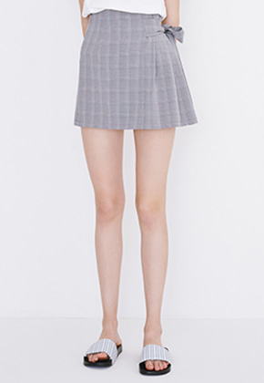 Margarin Fingers마가린핑거스 RIBBON TIE SKIRT