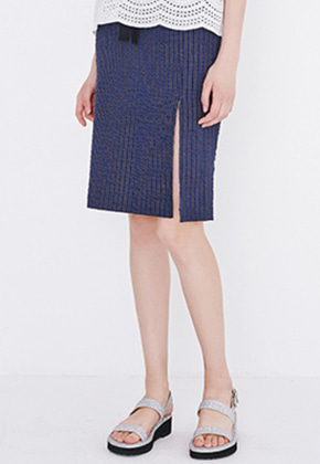 Margarin Fingers마가린핑거스 SLIT PENCIL SKIRT