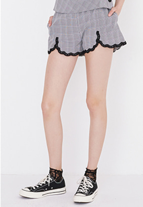 Margarin Fingers마가린핑거스 LACE BANDING SHORTS