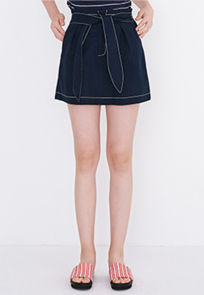 Margarin Fingers마가린핑거스 BALLOON MINI SKIRT