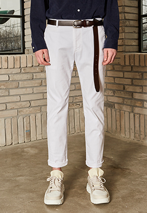 Yan13얀써틴 RELAX COTTON PANTS_WHITE