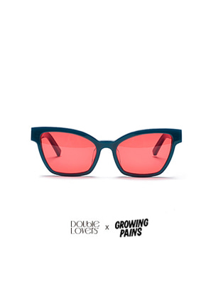 Double Lovers더블러버스 [DOUBLELOVERS X GROWING PAINS] WIG (Green Red)