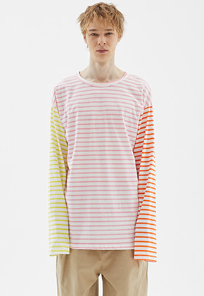 INDIGO CHILDREN인디고칠드런 MULTI STRIPE LONG SLEEVE [MULTI]