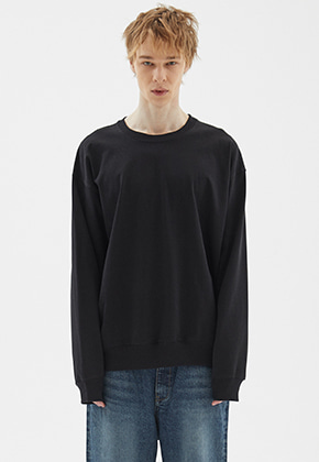 INDIGO CHILDREN인디고칠드런 OVERSIZED EASY MTM [BLACK]