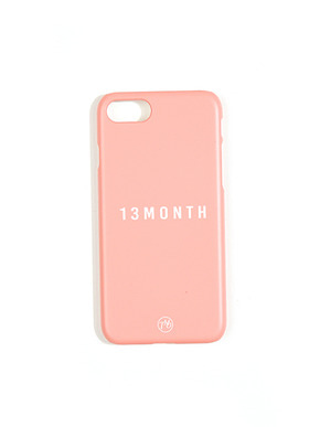 13Month써틴먼스 LOGO PHONE CASE (PINK)