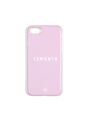 13Month써틴먼스 LOGO PHONE CASE (PURPLE)