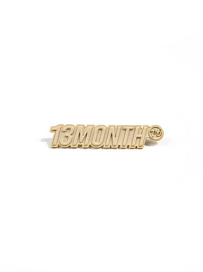13Month써틴먼스 LOGO BROOCH (GOLD)
