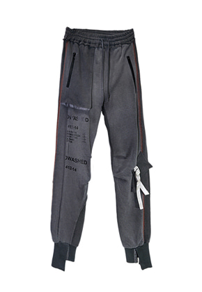 MPQ엠피큐 BIOWASHED_SIGNATURE POCKET JOGGER PANTS