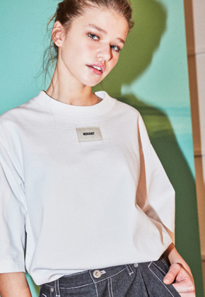 NOHANT노앙 DO-NOT-REVERSE T-SHIRT WHITE