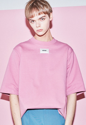 NOHANT노앙 DO-NOT-REVERSE T-SHIRT PINK