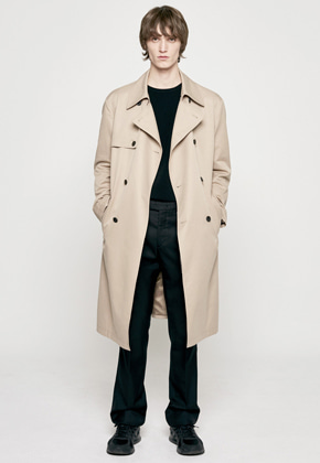 Insilence인사일런스 [3/30 예약배송] OVERSIZED TRENCH COAT beige