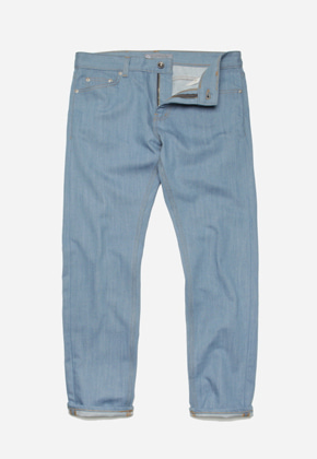 FRIZMWORKS프리즘웍스 Washed denim pants _ lightblue