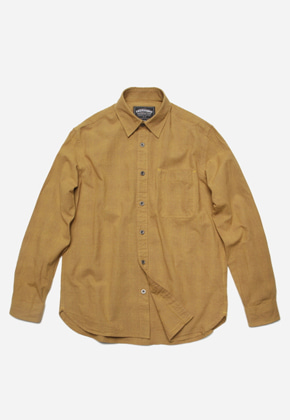 FRIZMWORKS프리즘웍스 Narrow check shirt _ camel
